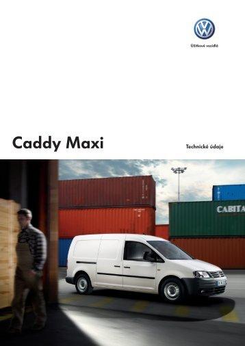 VW Caddy Maxi Flyer tech data A4.indd - vwuzitkove.sk
