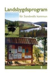 Landsbygdsprogram - Sundsvall