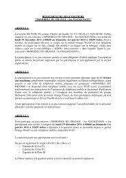 Règlement jeu-concours M6 MOBILE BY ORANGE Jeu Mackenson