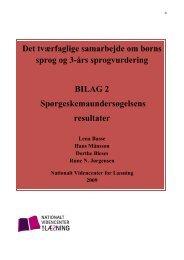 Download bilag 2 - Viden om Læsning