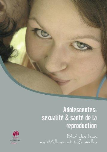 Adolescentes: sexualité & santé de la reproduction - PMB