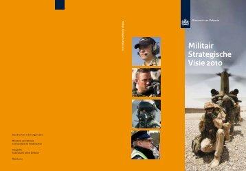 Militair Strategische Visie 2010 - ProDef