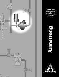 Steam Trap Management Products and Services - Armstrong ...
