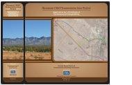 Rosemont 138kV Transmission Line Project Application ... - TEP.com