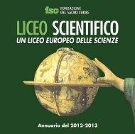 Annuario Liceo - Fondazione del Sacro Cuore - Soluzione web