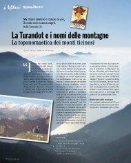 La Turandot e il nome delle montagne - Ardia.ch
