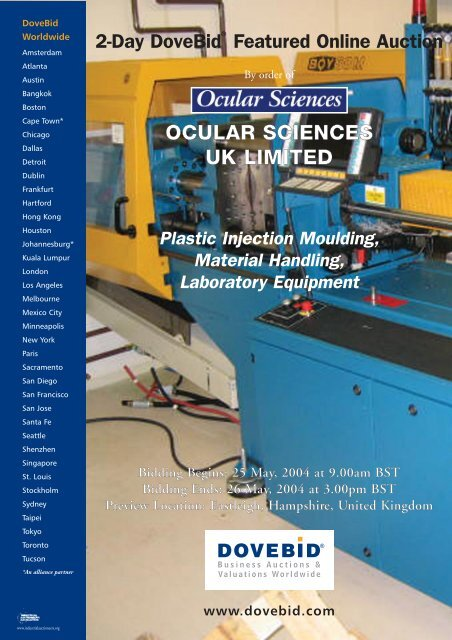 Injection Mold Handling Equipment - Best Equipment In The World