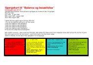 """Spørgekort til """"Balance og besættelse"""" - Hit med Historien - Gyldendal"""