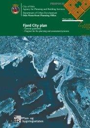 Fjord City plan - Fjordbyen