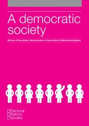 Articles of Association, Memorandum of Association & Membership ...