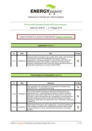 Sintesi della Gazzetta ufficiale dell'Unione europea - Assomineraria