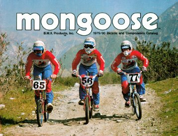 79-80 mongoose catalog - Vintage Mongoose