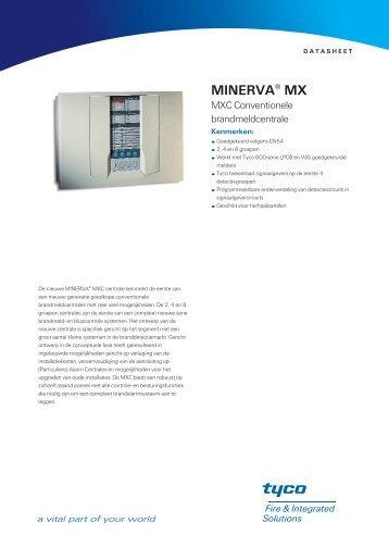 MXC brandmeldcentrale