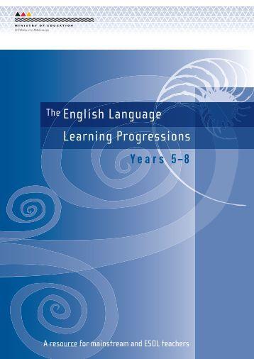 ELLP Years 5-8 - ESOL - Literacy Online - Te Kete Ipurangi