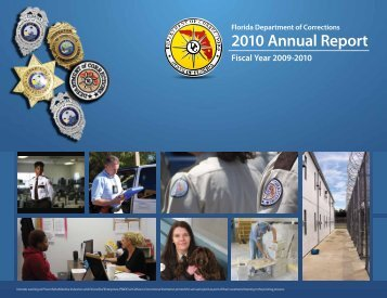 2010 Annual Report - Florida Department of Corrections