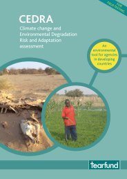 Climate change and Environmental Degradation Risk and ...