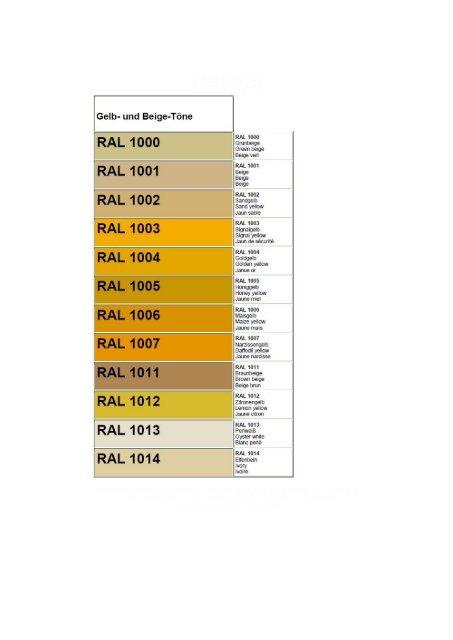 Ral 1000 Ral 1001 Ral 1002 Ral 1003 Windows Pro