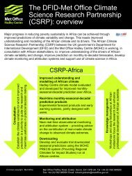 Read the full CSRP overview and results (PDF, 5 MB) - Met Office