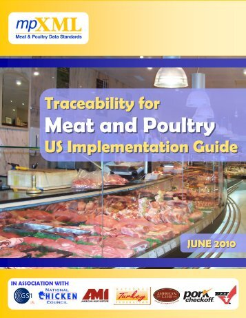 Traceability for Meat and Poultry US - mpXML