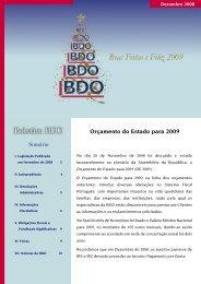 Boletim BDO - DNA Cascais
