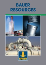 BAUER RESOURCES - GWE German Water and Energy GmbH