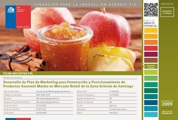 Desarrollo de Plan de Marketing para Penetración y ... - Fia