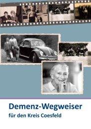Demenz-Wegweiser für den Kreis Coesfeld