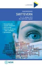 Program Fagkonferanse 2013 - Norsk Forum for sykehushygiene