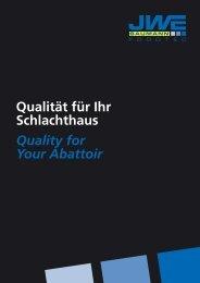 Image-Broschüre - JWE-Baumann GmbH