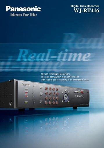 WJ-RT416 - Lister Communications