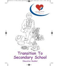 Transition to Secondary School - Little Hearts Matter