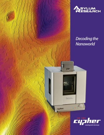Decoding the Nanoworld - ThomasNet