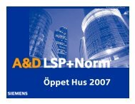 Öppet Hus 2007 - Siemens