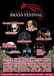 01.-05. JUNi 2011 iM Stift MELK - Schagerl Brass Festival 2014