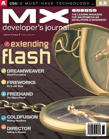dreamweaver - sys-con.com's archive of magazines - SYS-CON Media