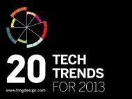 20 tech trends for 2013 - WordPress – www.wordpress.com