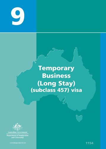 Booklet 9 - Department of Immigration & Citizenship