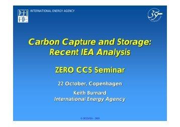 Why CCS? - Zero