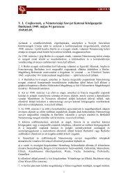 V. I. Csujkovnak, a Németországi Szovjet Katonai ... - Grotius