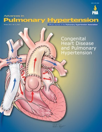 Congenital Heart Disease and Pulmonary Hypertension, Winter 2013