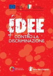 IDEE contro la discriminazione - Save the Children Italia Onlus