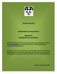 Grad Handbook revised Aug2012.pdf - Department of Geography ...