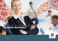 It-løsninger, der styrker din forretning og matcher din branche - EG A/S