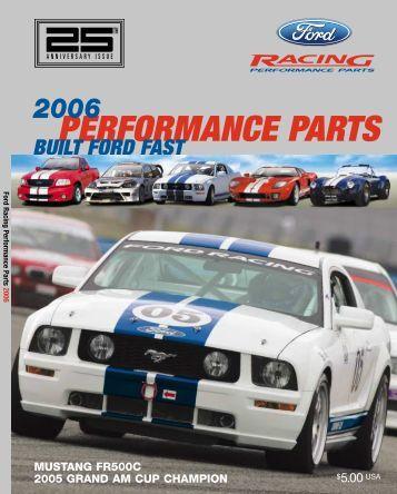 2006 Ford Racing Performance Parts Catalog - Rocket City Mustang ...
