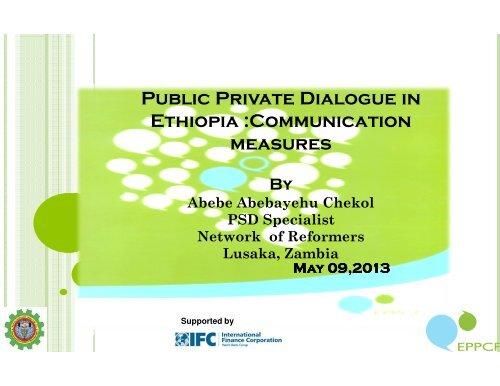 conducive investment climate in ethiopia