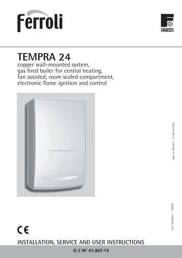 Tempra magazines.