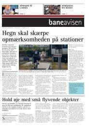Hegn skal skærpe opmærksomheden på stationer - Banedanmark