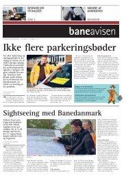 Ikke flere parkeringsbøder - Banedanmark