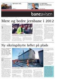 Mere og bedre jernbane i 2012 - Banedanmark