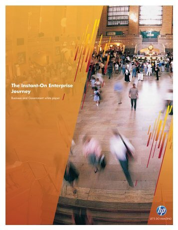 Instant-On Enterprise Journey Business and Government white paper
